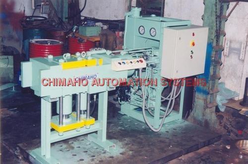 Drill Rod Upsetting Press