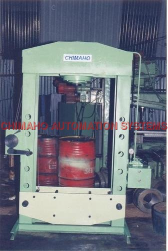 WORKSHOP TYPE 100 TON CAPACITY HYDRAULIC PRESS