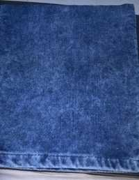 Wash Effect of Indigo Velvet Stretch