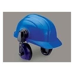 Helmet With Ear Muff