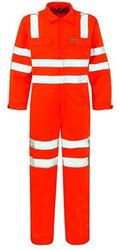 Boiler Suit With Reflective Tape
