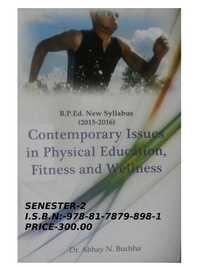 Contemporar issues in physical education