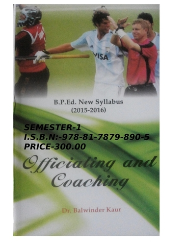 Officiating & Coaching (Semester -2)