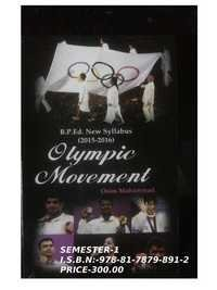 Olympic Movement (Semester-1)