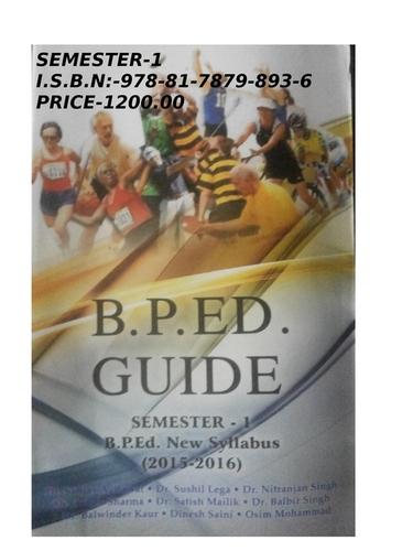 BP. Ed Guide (Semester -1)