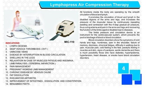 Lymphopress Air Compression Therapy System