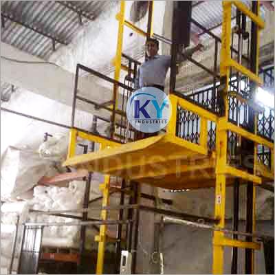 Dual Mast Goods Lift