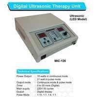 Digital Ultrasonic Therapy Machine