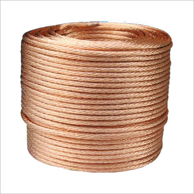Bare Stranded Copper Wire Ropes