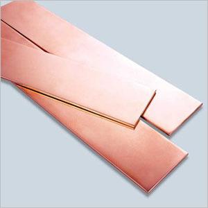 Golden Bare Copper Sheet