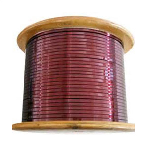 Enamelled Copper Strip