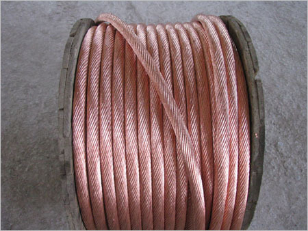 Copper Twill Braided Wire