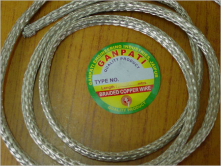Round Braided Tin Copper Earthing Wires