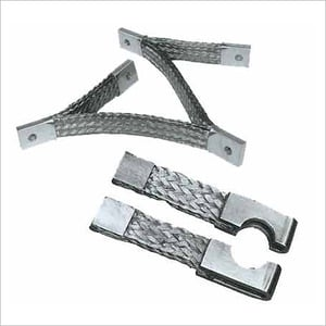 Braided Silver Flexible Connectors