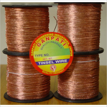 Braided Tinsel Lead Wire