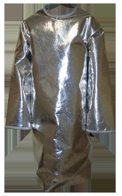 Aluminized Surgeon Style Back Open Apron