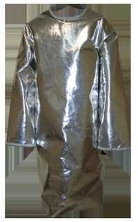 Aluminized Surgeon Style Back Open Apron