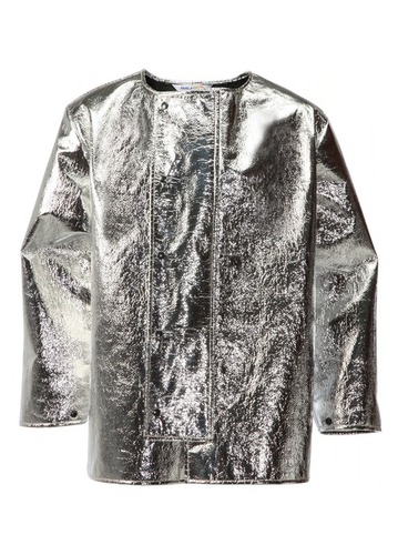 Aluminised Coat for Molten Metal Splash