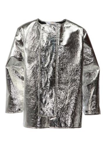 Aluminised Coat for Molten Metal Splash