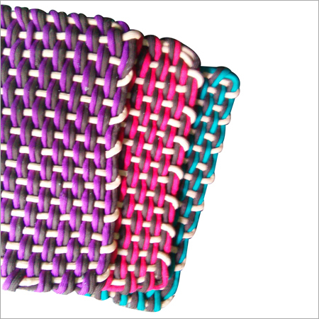 Multi Color Braided Mat