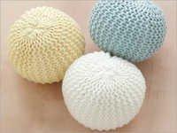 Cotton Poufs