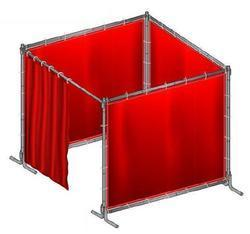 PVC Welding Curtain with Frame