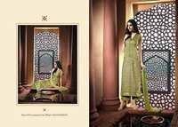 Designer Cotton Satin Dress Material