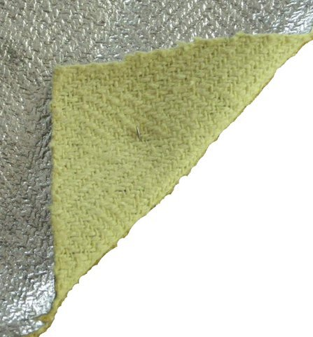 Aluminised Kevlar Fabric