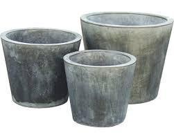 Garden Zinc Pots