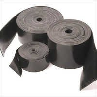 Black Natural Rubber Strips