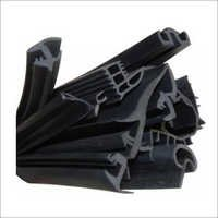 Black Sponge Rubber Beadings