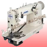 Double Needle Chain Stitch Machine
