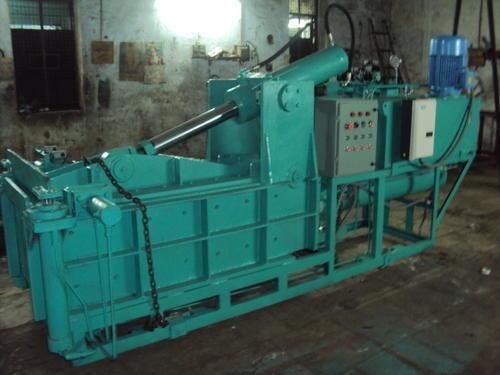 Tarpaulin Hydraulic Bale Press