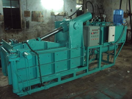 Tarpaulin Hydraulic Bale Press