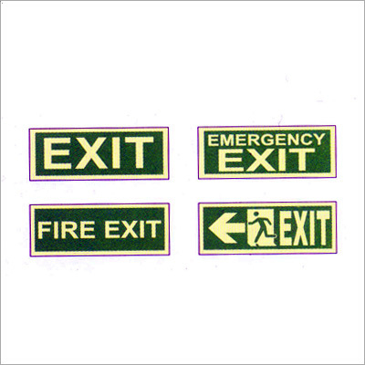 Directional Road Safety Signages