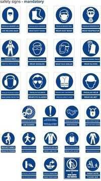 Construction Safety Signs / Posters