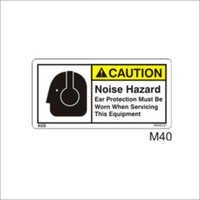 Noise Hazard Sign