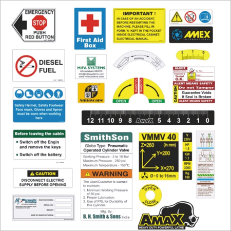 Industrial Safety Decals