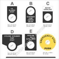 Push Button Legends