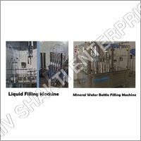 Liquid filling machine and bottle filling machine