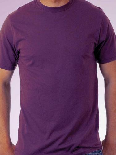 Round Neck Purple T - Shirt