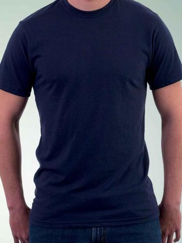 Round Neck Navy Blue T - Shirt