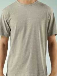 Round Neck Grey T - Shirt