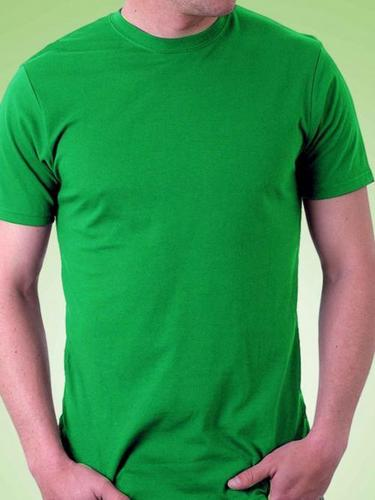 Round Neck Green T - Shirt