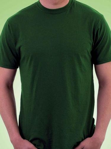 Round Neck Dark Green T - Shirt
