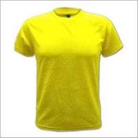 Round Neck Yellow T - Shirt