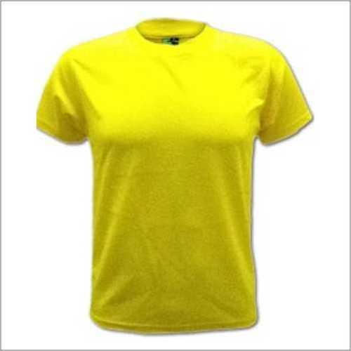 Round Neck Yellow T - Shirt