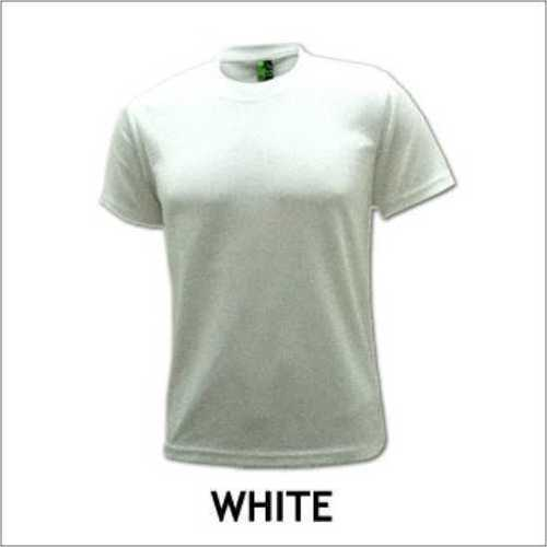Round Neck White T - Shirt