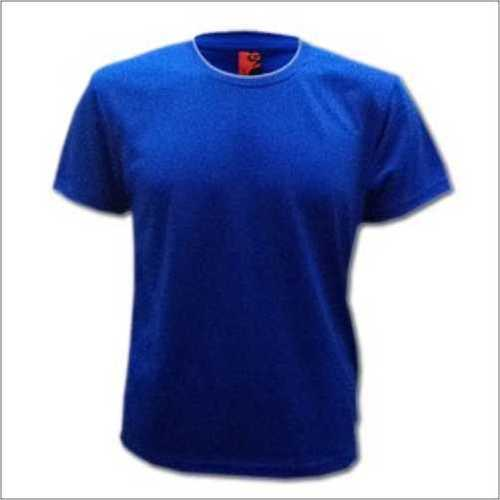 Round Neck Royal Blue T - Shirt