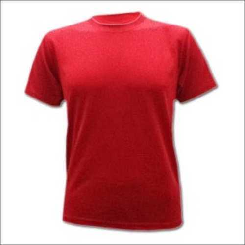 Round Neck Red T - Shirt